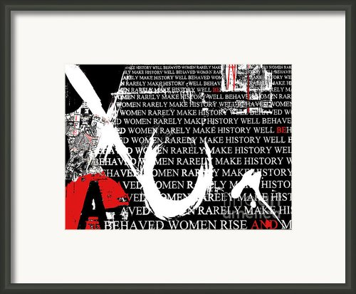 Feminist Hugs And Kisses Framed Print By Anahi Decanio