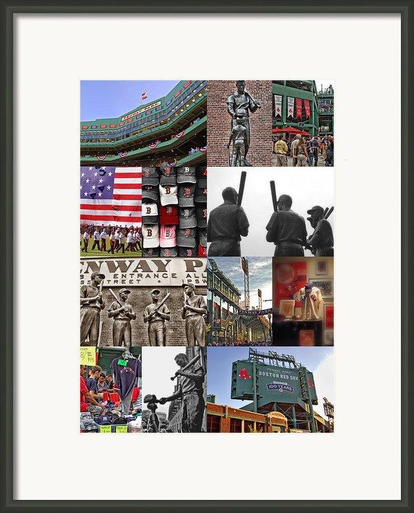 Fenway Memories Framed Print By Joann Vitali