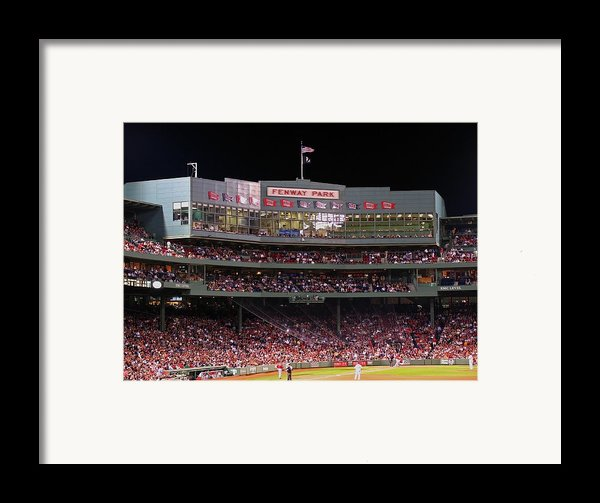 Fenway Park Framed Print By Juergen Roth