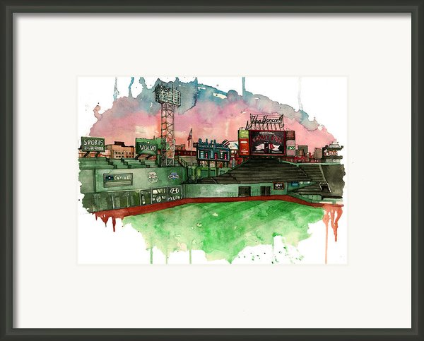Fenway Park Framed Print By Michael  Pattison