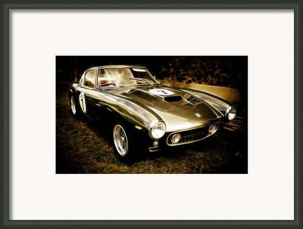 Ferrari 250 Gt Swb Framed Print By Phil