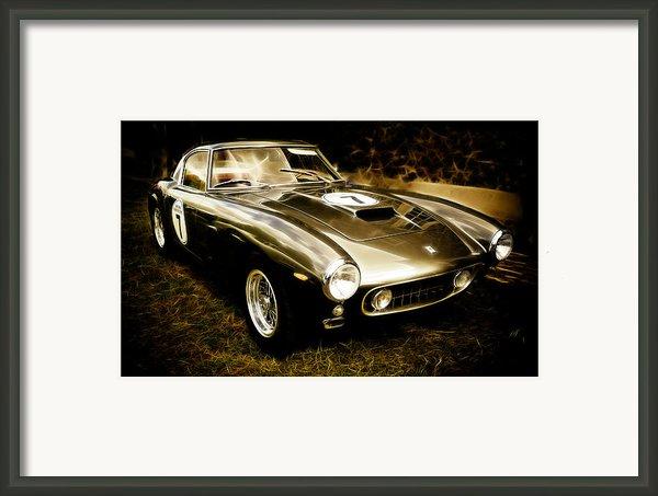 Ferrari 250 Gt Swb Framed Print By Phil