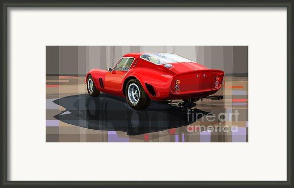Ferrari 250 Gto Framed Print By Yuriy Shevchuk