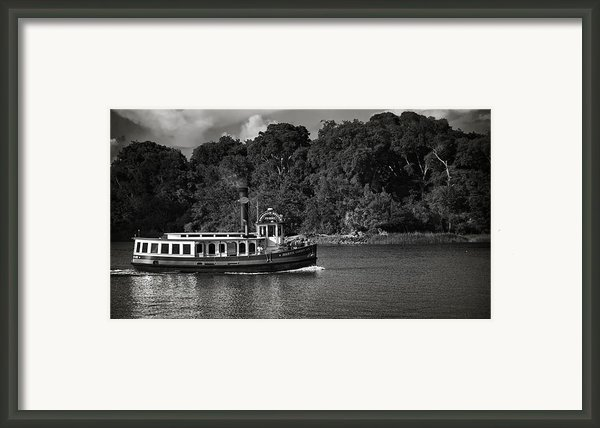 Ferry Framed Print By Mario Celzner
