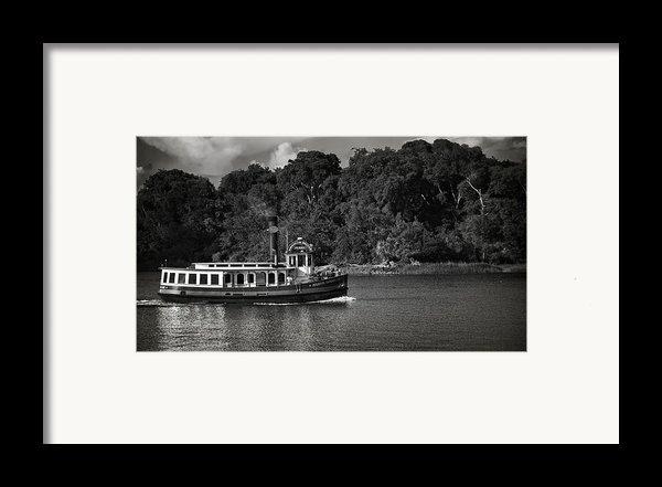Ferry Framed Print By Mario Celzner