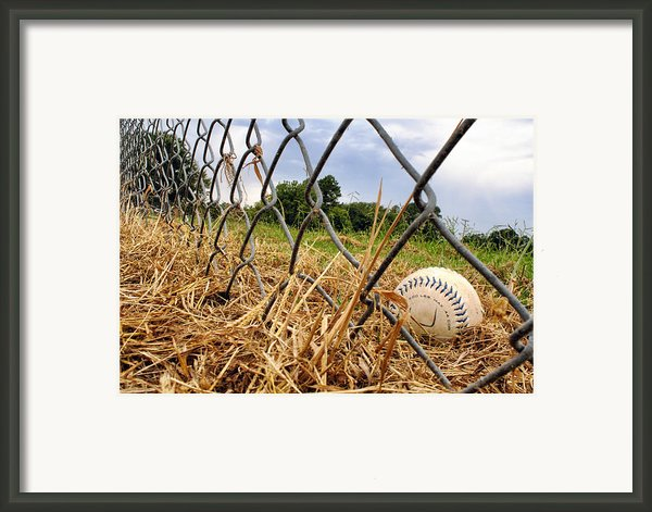 Field Of Dreams Framed Print By Jason Politte