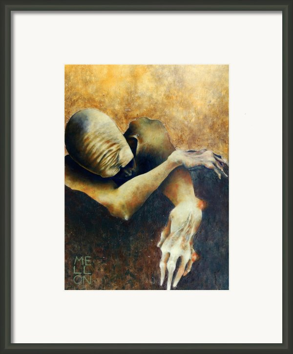 Figure Five Framed Print By Mark M  Mellon