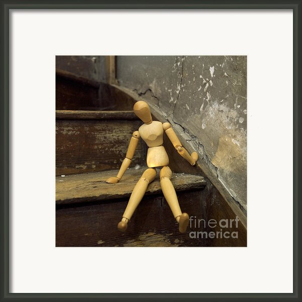 Figurine Framed Print By Bernard Jaubert