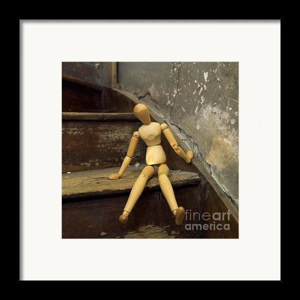 Figurine Framed Print By Bernard Jaubert