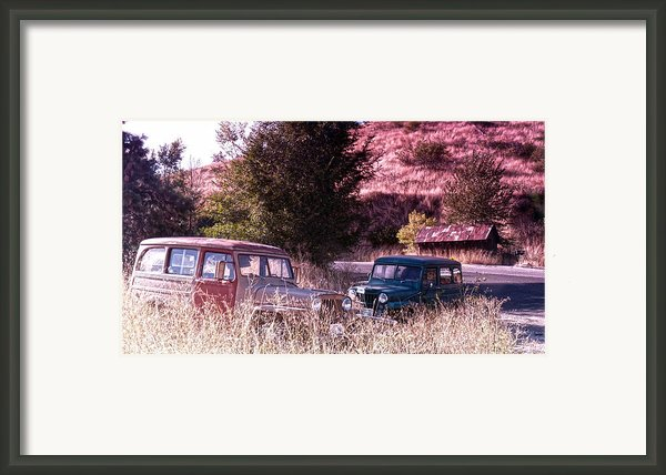 Final Resting Place Framed Print By Anna Marie Koonce