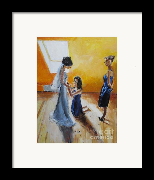 Final Touch Framed Print By Judy Kay