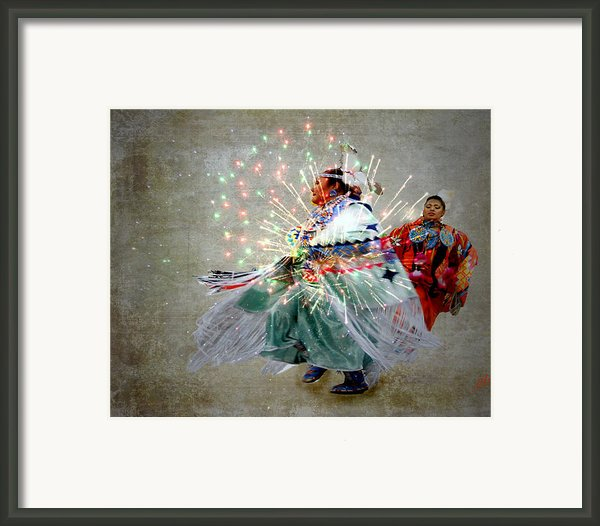 Fire Dance Framed Print By Irma Backelant Galleries