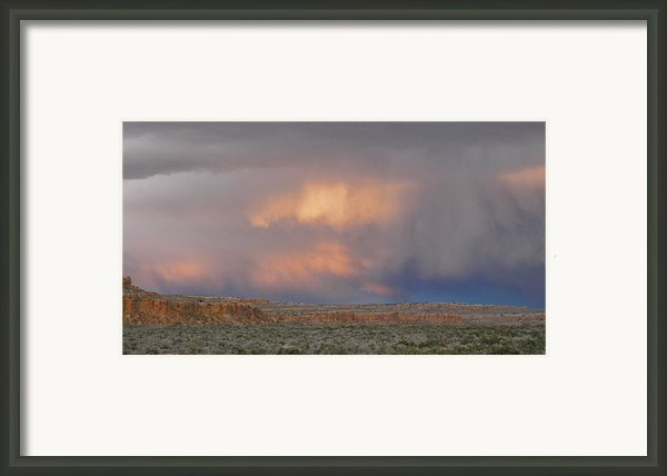 Fire In The Sky Framed Print By Feva  Fotos
