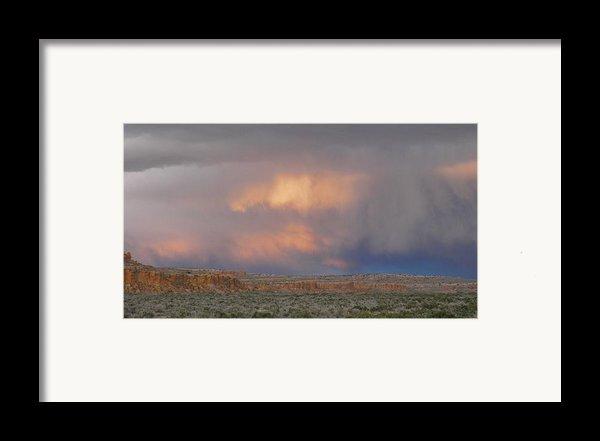 Fire In The Sky Framed Print By Feva  Fotos