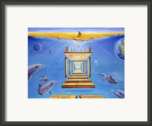 Fire Of Life Framed Print By Teresa Gostanza