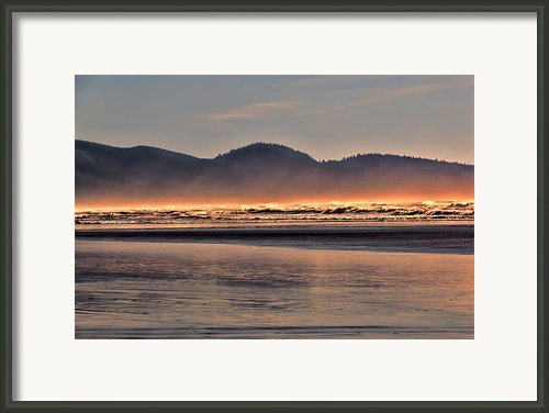 Firewater Framed Print By Jon Burch Photography