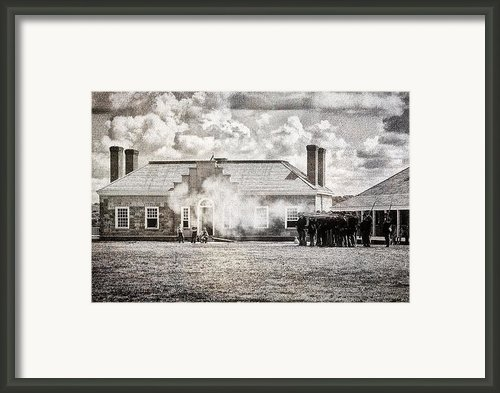 Firing Line Framed Print By Todd And Candice Dailey