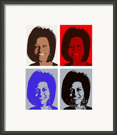 First Lady Framed Print By Robert  Suggs