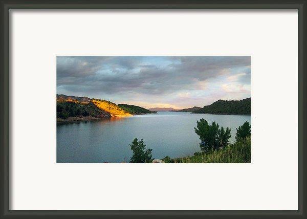 First Light Framed Print By Ric Soulen