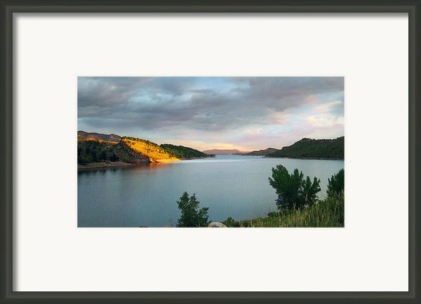 First Light Framed Print By Ric Soulen