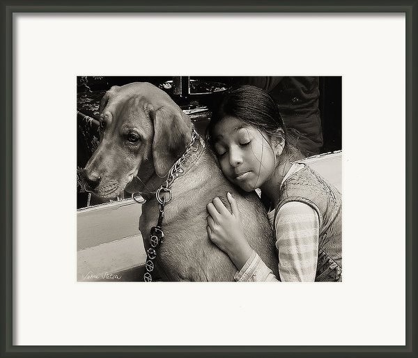 First Love Framed Print By Sabine Stetson