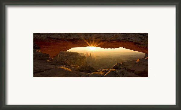 First Rays Framed Print By Andrew Soundarajan