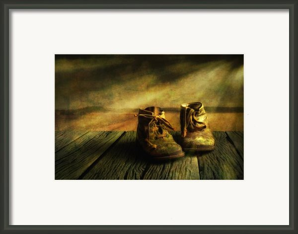 First Shoes Framed Print By Veikko Suikkanen