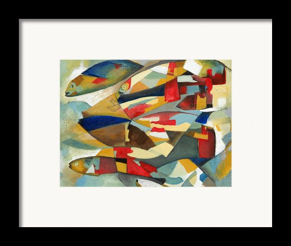 Fish 1 Framed Print By Danielle Nelisse