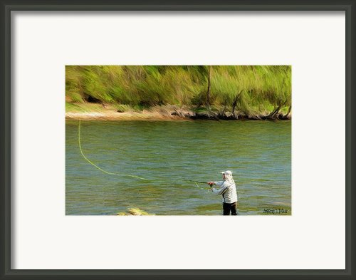 Fishing Lake Taneycomo Framed Print By Jeff Kolker