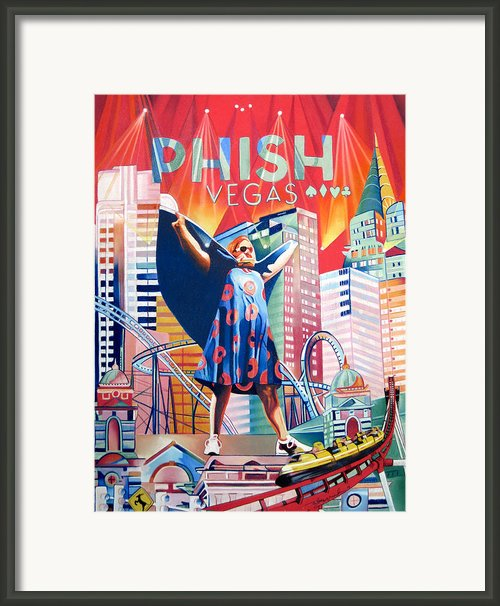 Fishman In Vegas Framed Print By Joshua Morton