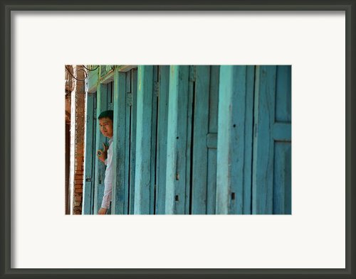 Five Doors Down Framed Print By Aaron S Bedell