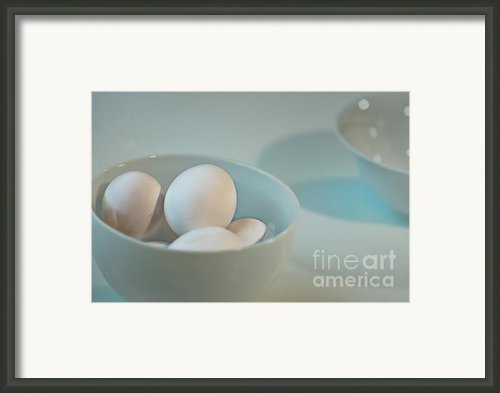 Five Eggs Framed Print By Catherine Fenner