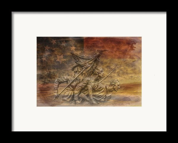 Flag Of Our Confederate Fathers Framed Print By Randy Steele
