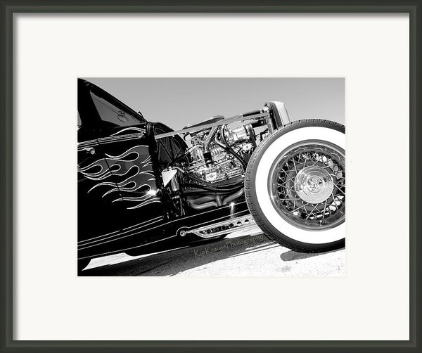 Flames Of Yesterday Framed Print By Kip Krause