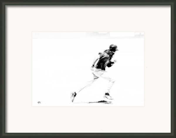 Flash Framed Print By Karol  Livote