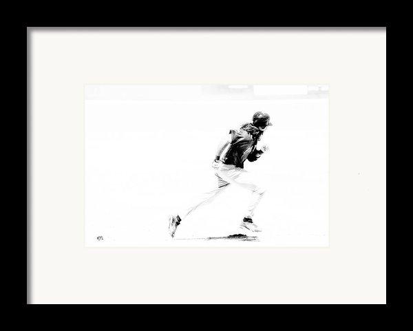 Flash Framed Print By Karol  Livote