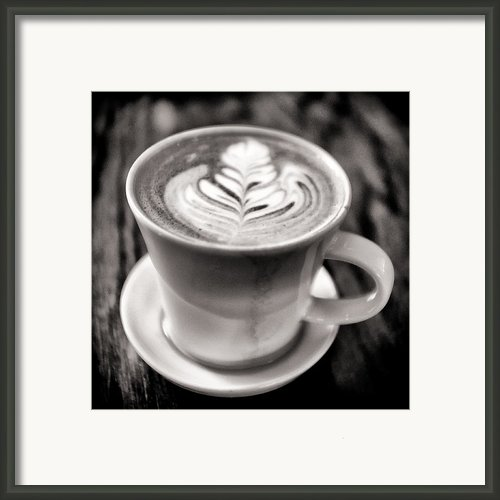 Flat White Framed Print By Tanya Harrison