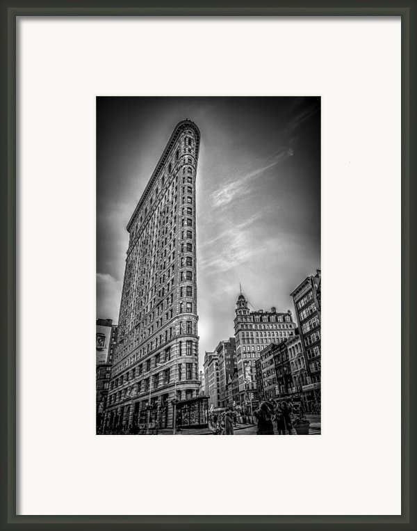Flatiron Framed Print By Shari Mattox