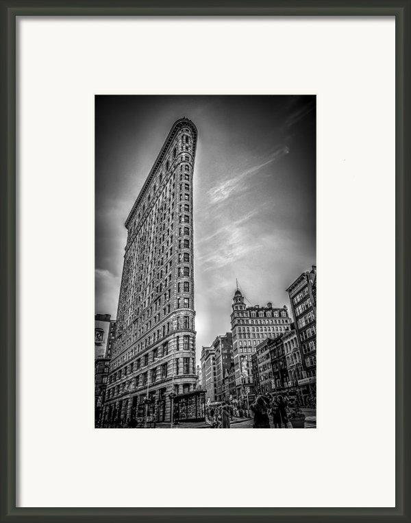 Flatiron Framed Print By Shari Mattox