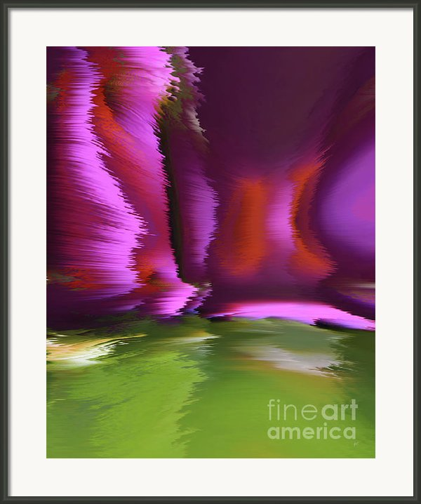 Flight Of The Imagination Framed Print By Gerlinde Keating - Keating Associates Inc