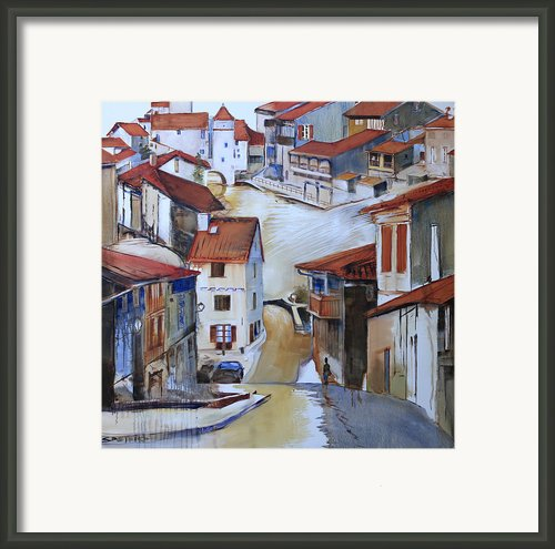 Flood Way Home Framed Print By Shirley  Peters
