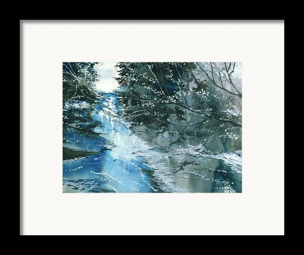 Floods 3 Framed Print By Anil Nene