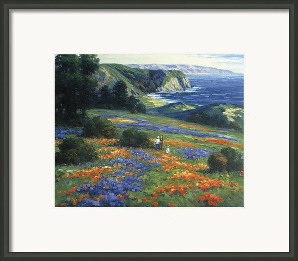 Floral Doman Framed Print By Ghambaro