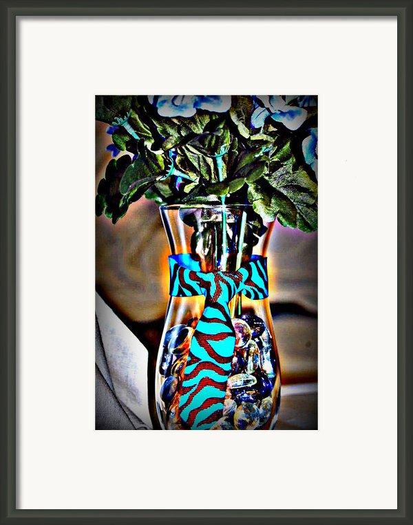 Flower Tie Framed Print By Joyce Brooks