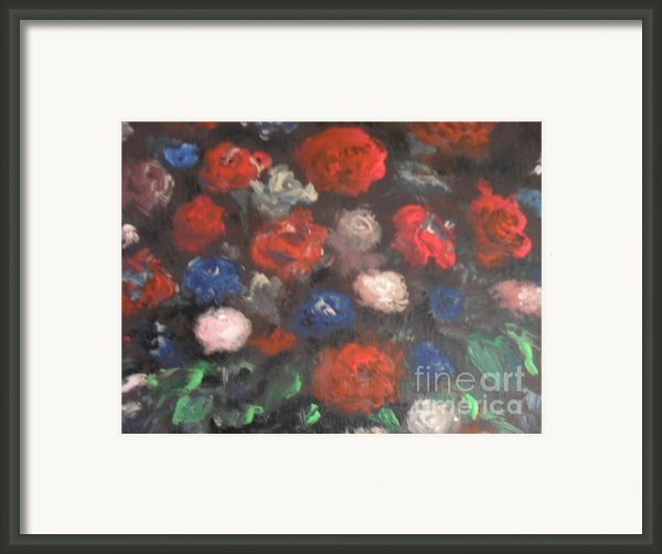 Flowers Framed Print By Laurie D Lundquist