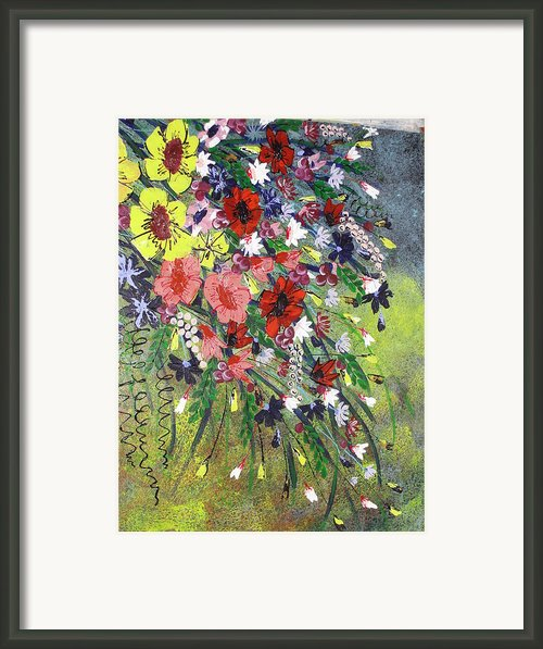Flowers Framed Print By Shilpi Singh