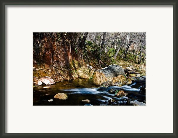 Flowing 2 Framed Print By Jag Fergus