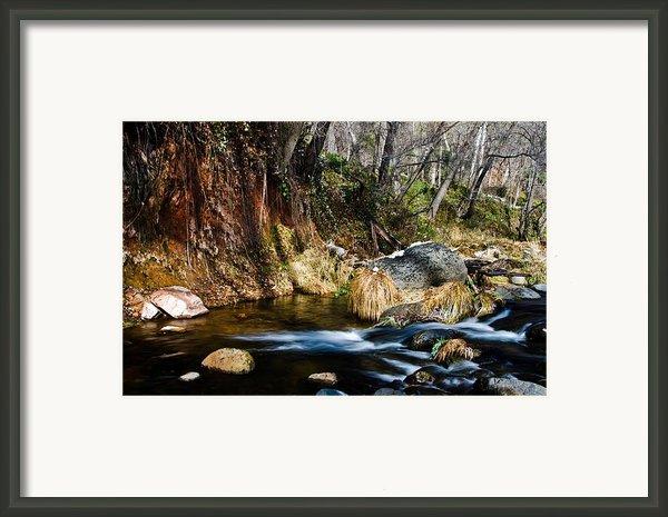 Flowing 2 Framed Print By Jag Fergus