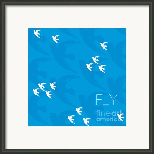 Fly Framed Print By Khristian Howell