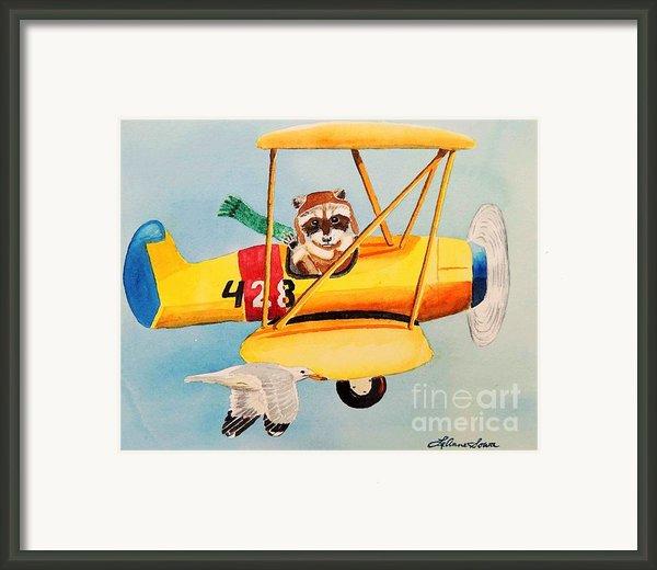 Flying Friends Framed Print By Leanne Sowa